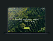 Website For Coffee Producer