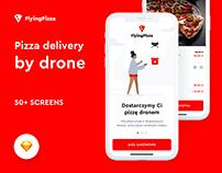 Flying Pizza App