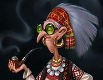 Galusha - hutsul witch