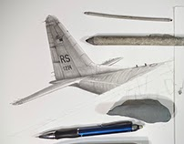 C-130E Hercules Part 1: Drawing the Tail