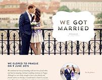 Patrick & Shahn's wedding website