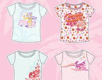 Cute Little girl summer collection