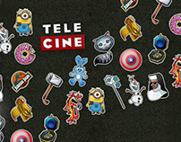 Stickers - TELECINE