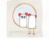 Boo ! Illustrations