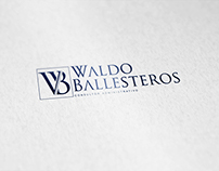 Waldo Ballesteros . Management Consultant - Logo Design