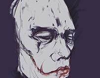 還沒化灰的臉,留在夢中演變。