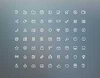 Set оf web icons
