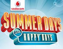 Vodacom Summer print campaign