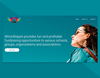 Landing page for WhoUReppin