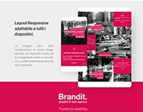 Web site One Page - Brandit
