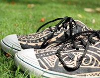 I Tribal I Hand Painted Shoes I