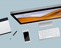 Desktop Illustrations