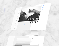 Made in Black & White Template