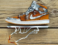 Rust Bucket Air Jordan 1 Mid
