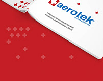 Brandbook Aerotek Professional / branding / logotype