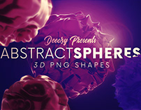 6 Free Abstract 3D Sphere Shapes