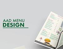 AAD Menu Design