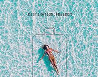 Cellini Luggage Freedom Campaign