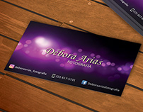 Debora Arias Photography - Presentation Card
