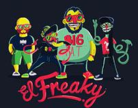 Visuales  El Freaky Colectivo