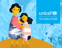 UNICEF // Character design