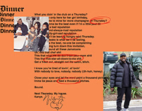 Dinner Invite From Kanye [Copywriting]