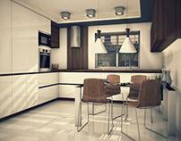 Modern kitchen project in Sweden