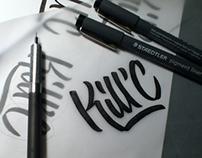 Logo et pochette CD - Kill'C