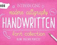 Free* Handwritten Font Collection