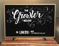 Chalkboard THE GROWLER