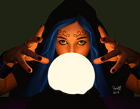 Light study - Fortune teller