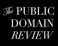 The Public Domain Review - Animated advertisement