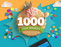 1000 Top Words App