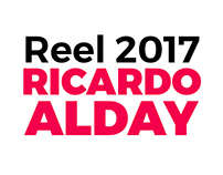 Reel 2017 - Ricardo Alday
