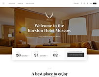 The main site for Korston Hotel 2017