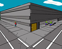 Perspective drawing FND 120