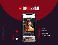 Gaveshan App Design