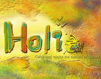 Holi FB banner