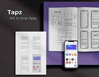 Tapz - All in One App (App Case Study)