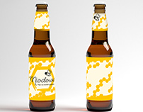 Projekt etykiety na piwo