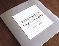 Donaciones y adquisiciones 2014-2015  |  MUNAL