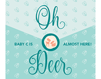 'Oh Deer' Fawn-themed Baby Shower