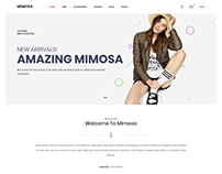 Mimosa - Fashion eCommerce Template