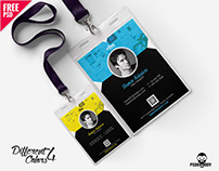 Corporate Identity Card Template PSD Bundle