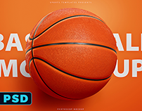 Basketball Ball Mock-Up Template