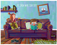 Zac and Sam - Sample children's book pages