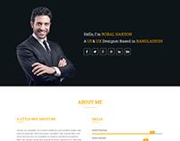 Baktigoto - Responsive Resume Portfolio HTML5 Template
