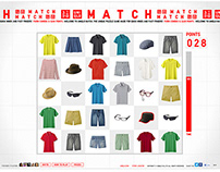 Web App | Uniqlo Match