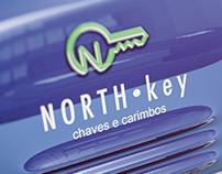Anúncio de jornal North Key