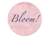 """Bloom"" for Champagne Pommery Rosé"